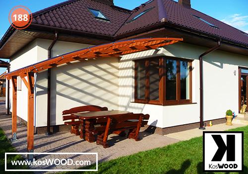 Wiaty Samochodowe Garaże Drewniane Wiaty Garażowe Drewniane